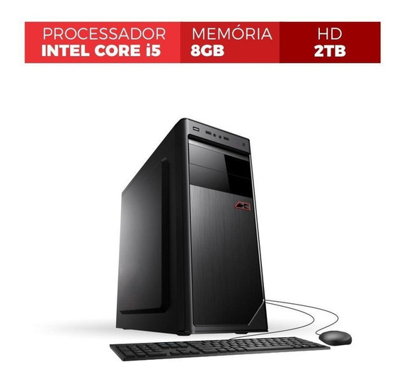 Pc Corporate Core I5 3.20ghz Turbo Até 3.46ghz 8gb 2tb Hdmi