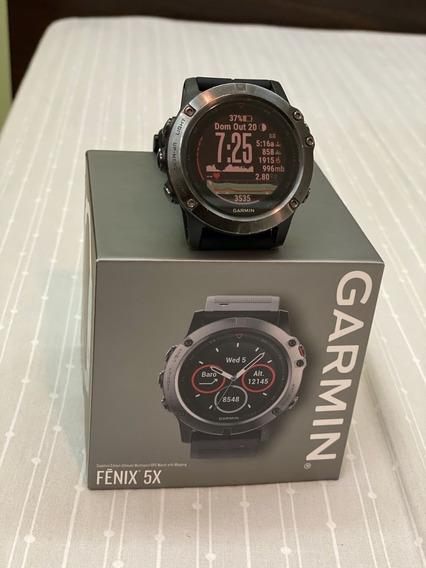 Relógio Garmin Fenix 5x Safira 51mm Gps