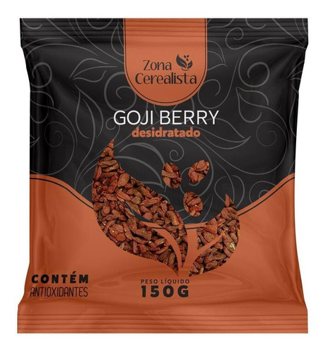 Goji Berry Desidratada Zona Cerealista 150g
