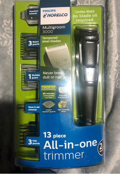 Afeitadora Philips Norelco All-in-one Multigroom 3000