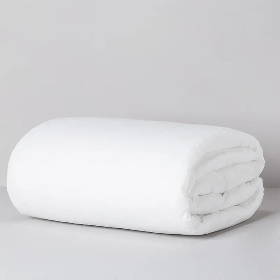 Relleno De Acolchado Arredo Twin Size Fliselina-color Blanco