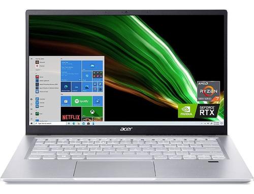 Imagen 1 de 10 de Ultrabook Acer Swift X Ryzen7 5800u 16gb Ssd512 14 Rtx3050ti