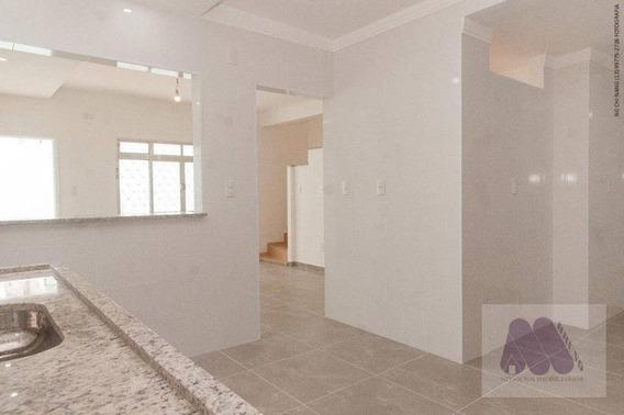 Sobrado Com 2 Dormitórios À Venda Por R$ 435.000 - Macuco - Santos/sp - So0055