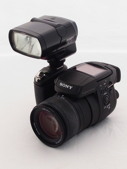 Sony Dsc R1 Carl Zeiss 24-120mm, Flash & Brinde Tamrac