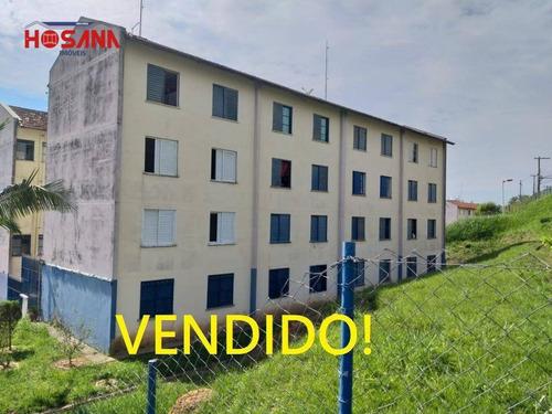 Imagem 1 de 16 de Apartamento Com 2 Dormitórios À Venda, 45 M² Por R$ 110.000 - Nova Era - Caieiras/sp - Ap0164