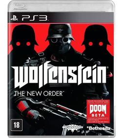 Wolfenstein The New Order Ps3 Novo E Lacrado