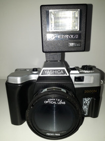 Câmera Fotográfica Yashica 2000n Analógica+flash Frata Novo