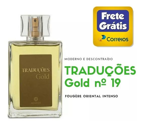 Perfume Traduções Gold Nº 19 Da Hinode - Envio Imediato