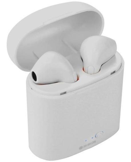 Ear Phone Bluetooth Stereo Com Base Carregadora