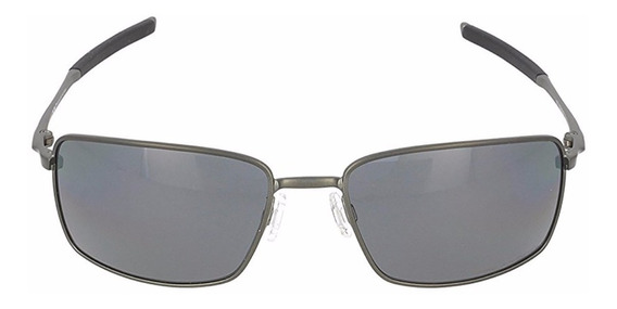 Lentes Oakley Square Wire Carbon / Grey Polarized Oo4075-04