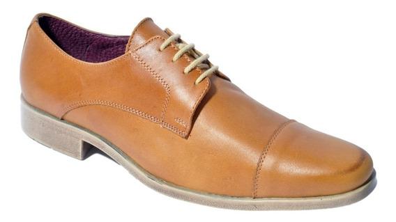 Zapato Hombre De Cuero Campus 4011 Formal Para Vestir Cuotas