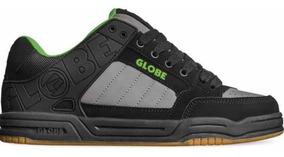 Tenis Globe Tilt Black Green Skate