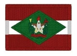 Bordado Termocolante Diversas Bandeiras