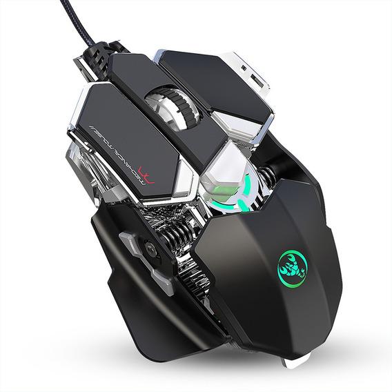 Hxsj J600 Mouse Com Fio Para Jogos Com Programação De Nove