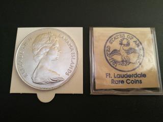 Moneda Elizabeth Ii Dg Reg Fd - Monedas en Mercado Libre