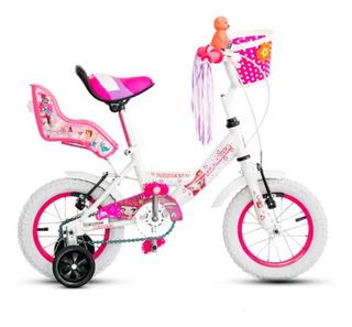 Bicicleta Topmega Princess R12 Nena Rueditas Motospart