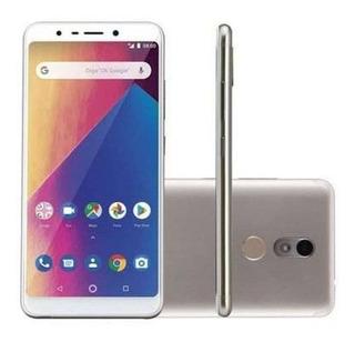 Smartphone Multilaser Ms60x Dourado E Branco P9084