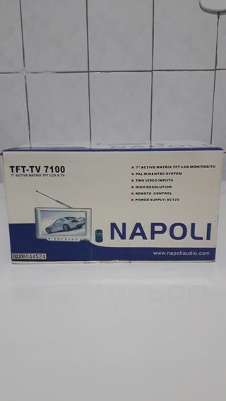Tft-tv 7100 Napoli 7 Zerado Na Caixa Nunca Usado