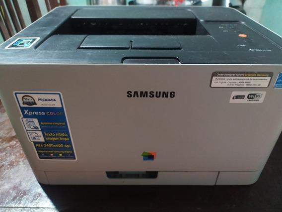 Impressora Laser Samsung C410w Leia A Descrição