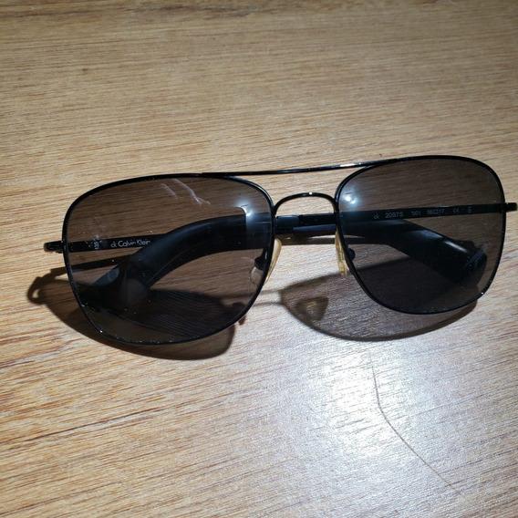 Óculos Escuros Original Calvin Klein 2097s Modelo Aviador
