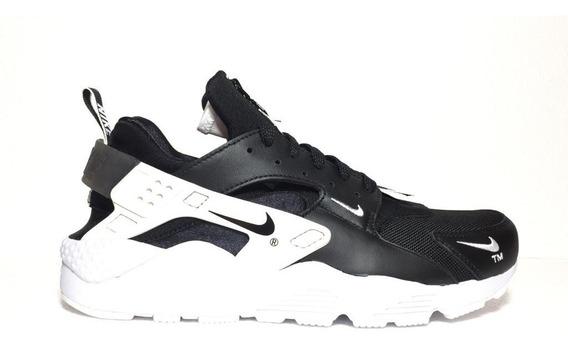 Tenis Nike Air Huarache Run Prm Zip Black/white