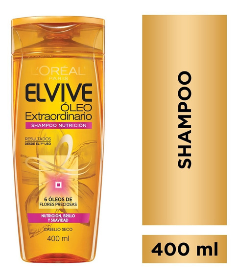 Shampoo Oleo Extraordinario X400ml Elvive Loreal Paris