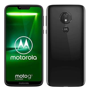 Smartphone Motorola Moto G7 Power 64gb 4gb Ram Capa Protetor