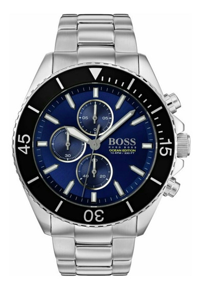 Relógio Masculino Hugo Boss 1513704 Ocean Edition Completo