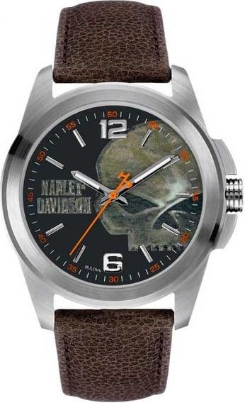 Relógio Bulova Harley Davidson Wh30519t