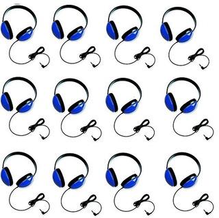 Califone 2800-bl Audición De Primeros Auriculares En Azul