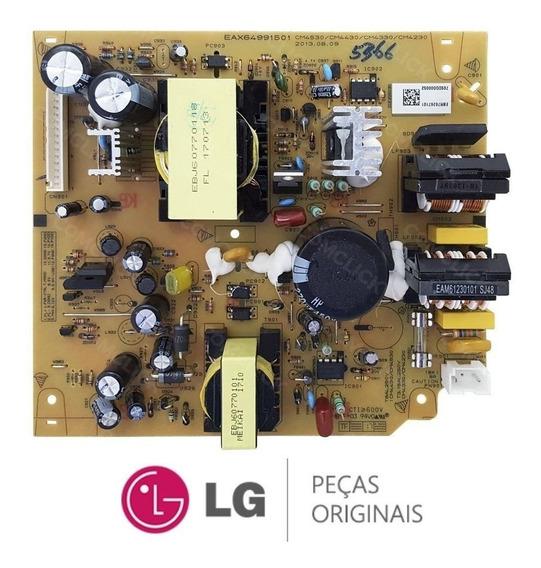 Placa Fonte Som Mini System Lg Cm4430 Nova Original