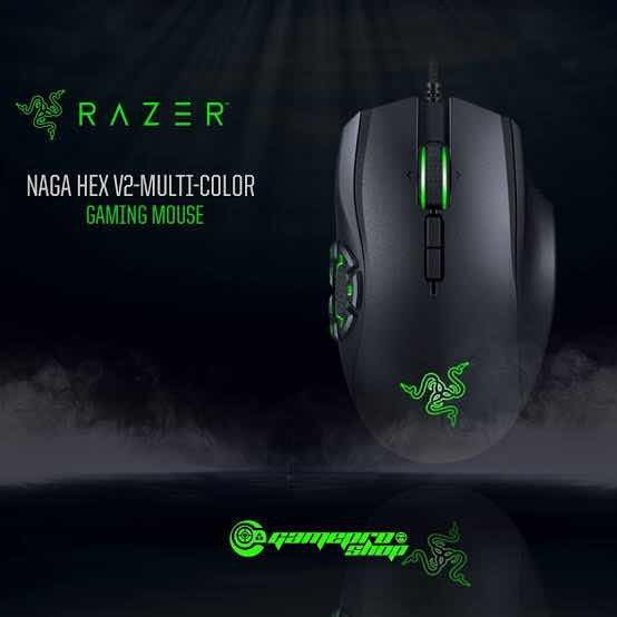 Mouse Naga Hex V2