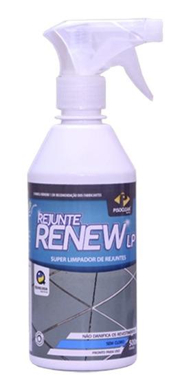 Rejunte Renew Lp - 500ml - Pisoclean - Limpar Rejunte