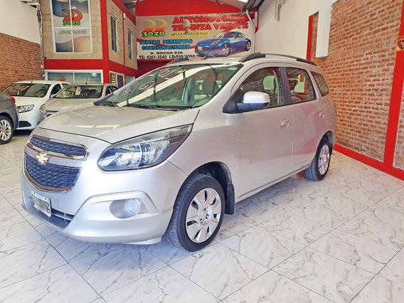 Chevrolet Spin Lt My Link 5as 2015 Gnc