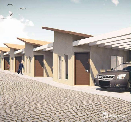 Casa Com 2 Dormitórios À Venda, 50 M² Por R$ 190.000,00 - Estância Poços De Caldas - Poços De Caldas/mg - Ca0487