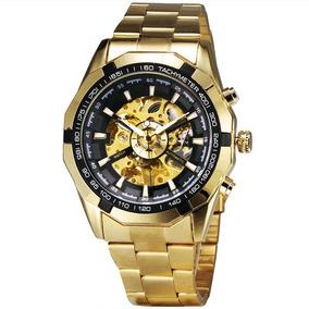 Relógio Automático Forsining Tm340 Promoção Mês Das Mães