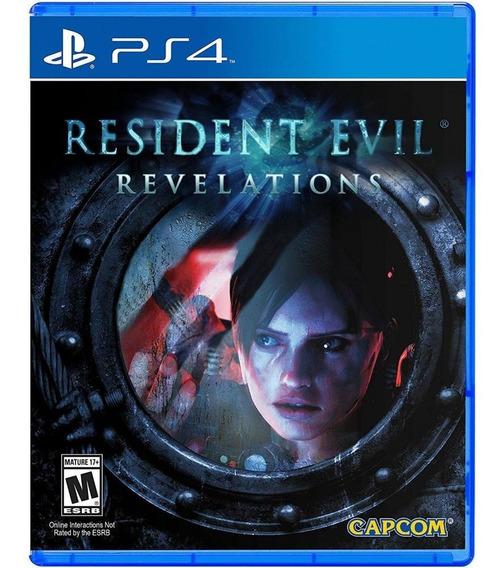 Resident Evil Revelations Ps4 Mídia Física Novo Original