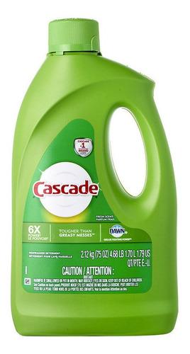 Cascade Gel Fresh Detergente Lavavajillas X 1,7 Lts