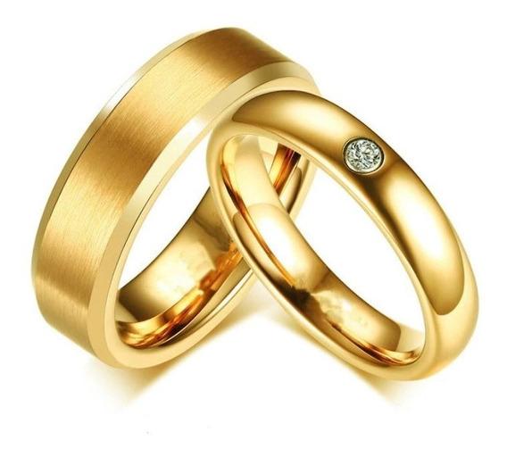 Anillo Alianza Pareja Ilusiones Amor Boda Matrimonio Cristal
