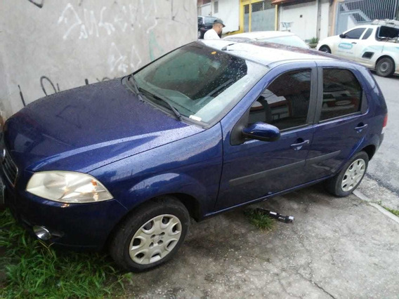Fiat Pálio Motor 1.4 2008 Azul 5 Portas Flex