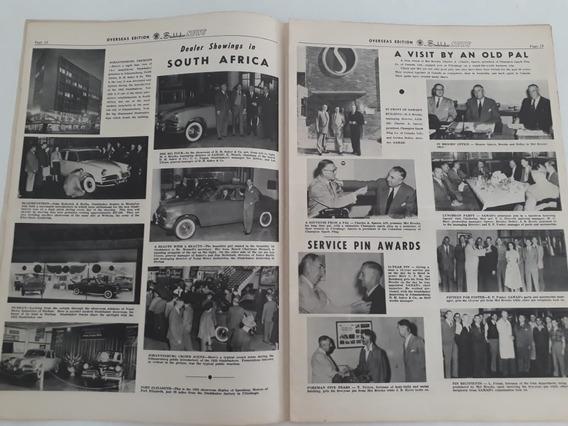 Folheto Catálogo Livreto Notícias Studebaker 1953 Coleção