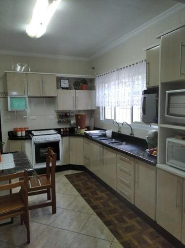 Casa Com 3 Dormitórios À Venda, 179 M² Por R$ 800.000,00 - Campestre - Santo André/sp - Ca0022