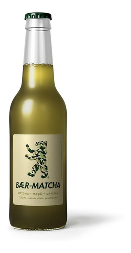 Chá Gaseificado Baer-matcha 350ml Com 6 Un.