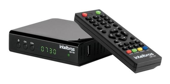 Conversor Tv Digital Hdmi Usb Gravação Antena Dig Intelbras