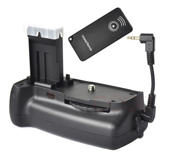 Grip Bateria Canon 100d Rebel Sl1 Slr Câmera Com Controle Ir