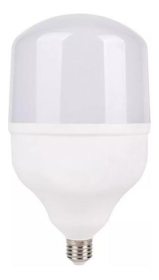 Kit 5 Lâmpada Led Bulbo E27 Branco Frio Bivolt Inmetro 20w
