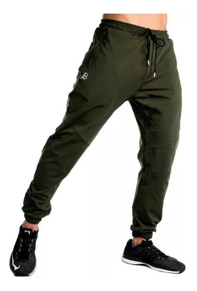 Pantalón Chupin Babucha Entallado Jogging Gym Hombre Rústico