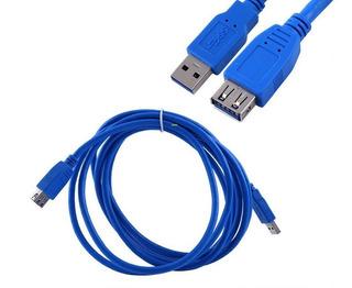 Cable Alargue Usb Macho Hembra 3.0 De 3 Metros Alta Velocidad