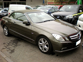 Mercedes Benz Clase E E250 Cabrio 1.8 At 2011