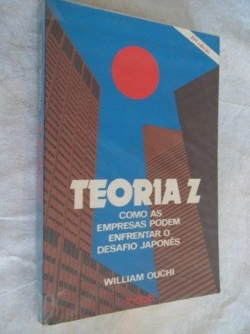 Livro - William Ouchi - Teoria Z - Administração